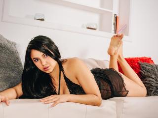 Foto de perfil sexy da modelo NicolleJunes, para um live show muito quente!