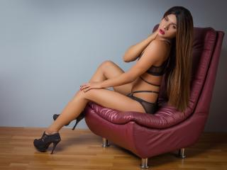 Photo de profil sexy du modèle StephanyRipoll, pour un live show webcam très hot !