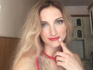 Sexy profilbilde av modellen  QueenMolly, for et veldig hett live webcam-show!
