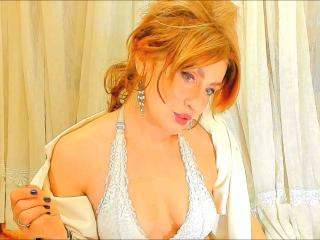 Picture of the sexy profile of BlondeAtomique, for a very hot webcam live show !