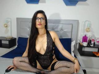 Foto de perfil sexi, da modelo SaritaLinda, para um live show webcam muito quente!