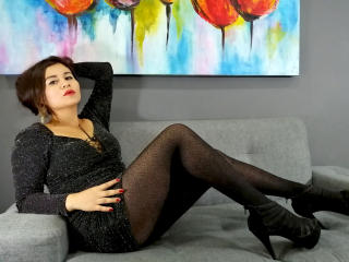 Picture of the sexy profile of AmandaMax, for a very hot webcam live show !