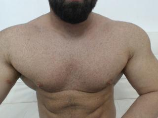 Picture of the sexy profile of MuscleManiaX, for a very hot webcam live show !