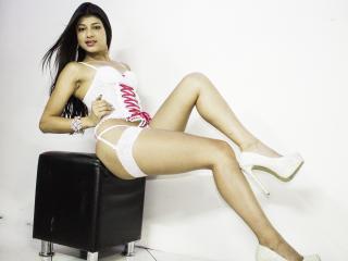 Foto del profilo sexy della modella JohanaTS, per uno show live webcam molto piccante!