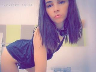 Fotografija seksi profila modela  Aprilove za izredno vroč webcam šov v živo!