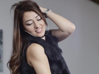 Foto de perfil sexy da modelo GinaBanks, para um live show muito quente!
