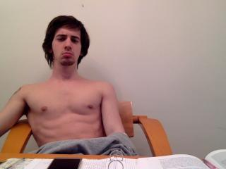 Picture of the sexy profile of DarkMazzone, for a very hot webcam live show !