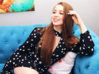 Seksikäs profiilivalokuva HollyHoxU kuumaa webcam live show'ta varten!