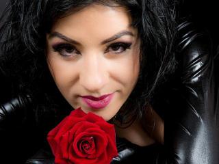 Foto de perfil sexi, da modelo GoddessUniq, para um live show webcam muito quente!