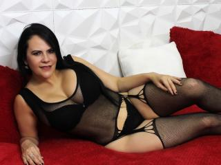 Sexet profilfoto af model TiffanyGoldX, til meget hot live show webcam!