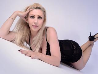 Seksikäs profiilivalokuva AaliahLove kuumaa webcam live show'ta varten!
