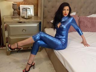 Photo de profil sexy du modèle Sariell, pour un live show webcam très hot !
