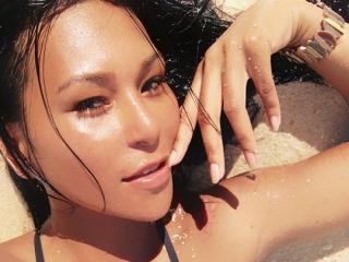 Foto van het sexy profiel van model esabel, voor een zeer geile live webcam show!