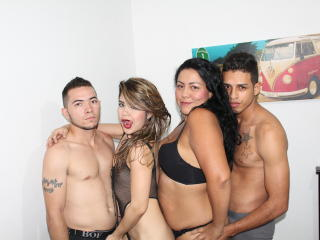 Picture of the sexy profile of LatinAmazingGroup, for a very hot webcam live show !
