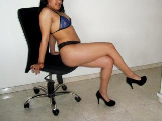 Photo de profil sexy du modèle LuciaMurcia, pour un live show webcam très hot !