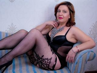 Picture of the sexy profile of MissMary, for a very hot webcam live show !